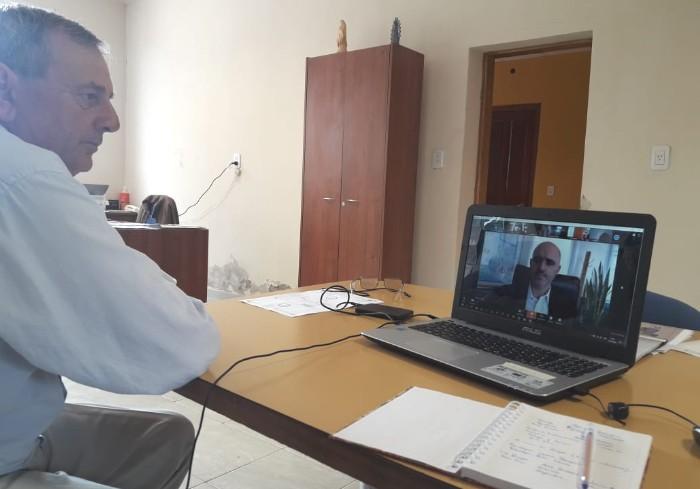 Covid-19: Falucho en importante teleconferencia nacional por ser Municipio Saludable