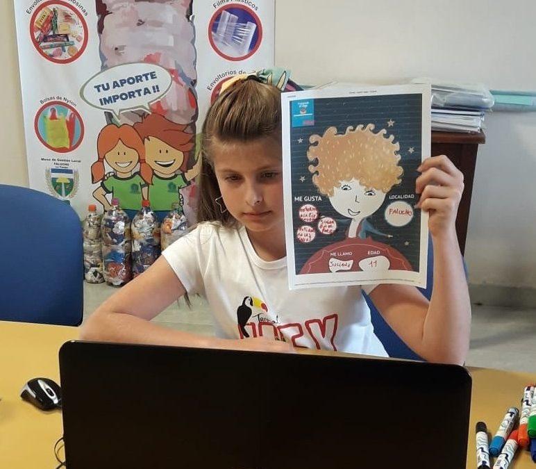Foro de Participación: la niña Juliana Rangone representó a Falucho
