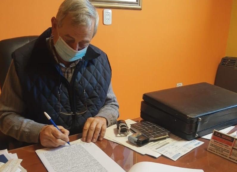 Firma de convenio con la APA para limpieza y mantenimiento de canales pluviales